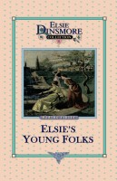25 - Elsie's Young Folks, Book 25, Martha Finley, hard cover