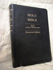KJ3 - Literal Translation of the Bible, Black Leather, Jay P. Green, Sr. - Translator