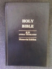 KJ3 Literal Translation Bible, Thin Gold Stamped Bonded Leather Memorial Edition  Hard Cover, Jay P. Green, Sr. Translator