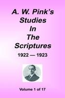 A. W. Pink's Studies in the Scriptures, 32 volumes in 17 volumes set, hardback, 1st twelve vols only