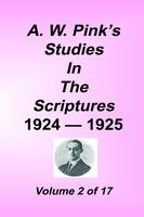 Studies in the Scriptures - 1924-25, Volume 02, Arthur W. Pink, hard cover