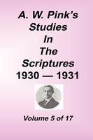Studies in the Scriptures - 1930-31, Volume 05, Arthur W. Pink, hard cover