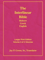 Interlinear Greek English New Testament, Larger Print, Jay Green, Sr., paperback