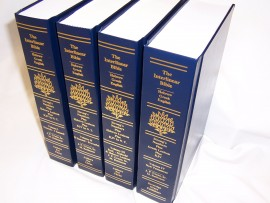 Interlinear Hebrew Greek English Bible, Regular Print Hardcover, 4 Volume Set with 3 Volume 1985 OT & 2007 Interlinear NT w KJV, Jay P Green, Sr.