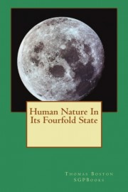 Human Nature In Its Fourfold State, Thomas Boston, paperback